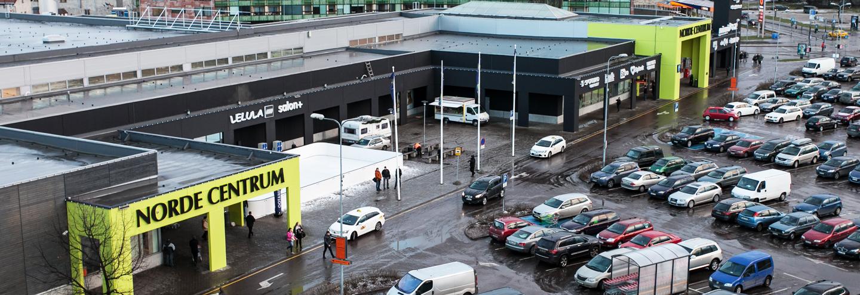 62b94dc2f86 Norde Centrum, Tallinn: location, fashion stores, opening hours ...