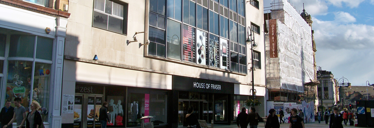 Items available at  House of Fraser